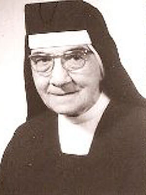 Mother M. Siegfrieda of St. Paul (Glaser)