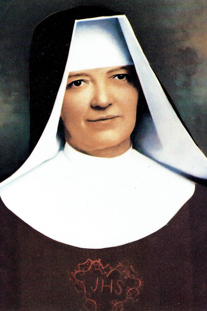 Zl. Moeder Maria Teresa van de Heilige Jozef