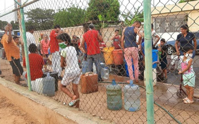 Water well for Venezuela